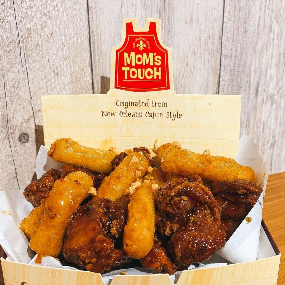 南韓第二大速食炸雞「MoM's TOUCH」終於進軍台北師大商圈