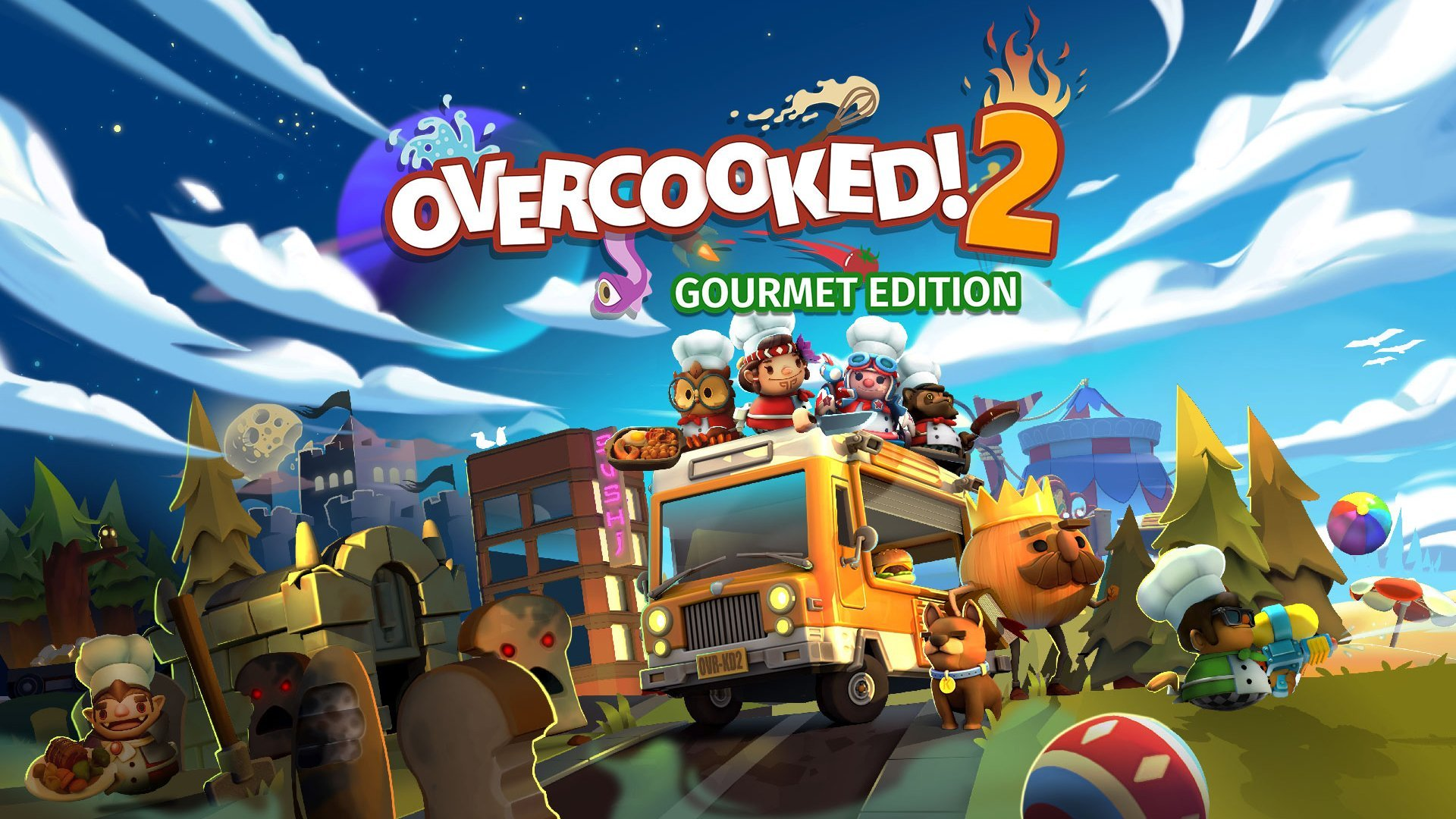Overcooked! 2: Gourmet Edition 煮過頭2 美食家版
