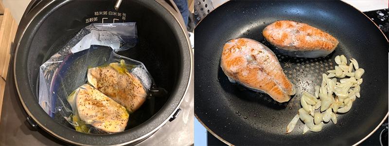 夏日懶人簡易料理食譜-法式舒肥香檸鮭魚
