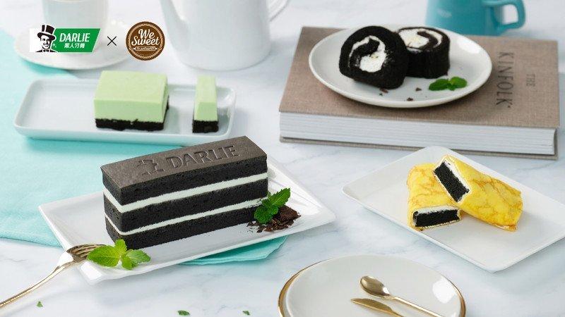 全聯x黑人牙膏聯名蛋糕