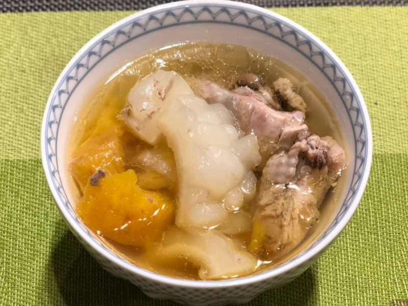 夏日懶人簡易料理食譜-鳳梨苦瓜雞
