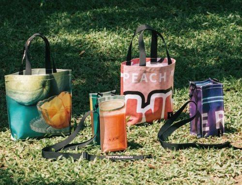 【放放/放吃】「萬波×珍煮丹」攜手共為公益發聲!門市宣傳物回收再製成提袋,為環保盡一份心力