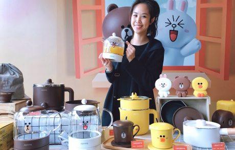 全聯福利中心推出全新—當前最火紅的小家電品牌「九陽」與「 LINE FRIENDS」的超萌廚電。